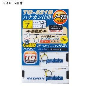がまかつ(Gamakatsu) くっきりハナカン仕掛(TG-521B) 6.5号 45847
