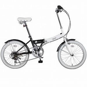 【送料無料】阪和 20インチ カラフル折りたたみ自転車 6段変速 TRAILER【代引不可】 20インチ ブラック BGC-N10-BK