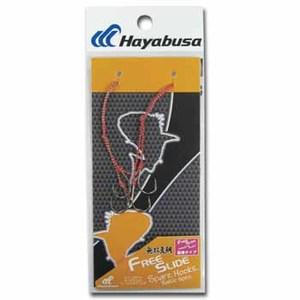 ハヤブサ(Hayabusa) 無双真鯛 フリースライド スペアフックセット SE127 6 タイラバパーツ