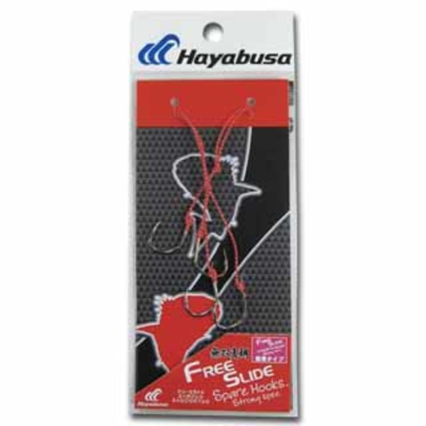 ハヤブサ(Hayabusa) 無双真鯛 フリースライド スペアフックセット ストロングスペック SE128 13 タイラバパーツ
