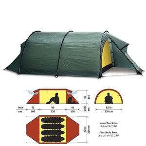 HILLEBERG(ヒルバーグ) テント ケロン4 12770012008004 ファミリードームテント