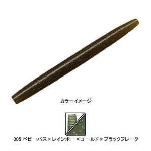 ゲーリーヤマモト(Gary YAMAMOTO) ヤマセンコー 4インチ 305ベビーバス/レインボー&ゴールド&ブラックF J9S-10-305