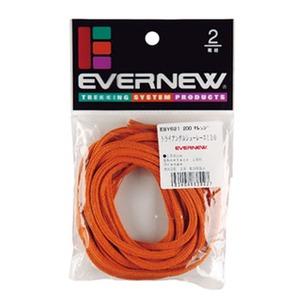 EVERNEW(エバニュー) トライアングルシューレース130 130cm 200(オレンジ) EBY621