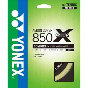 ヨネックス(YONEX) エアロンスーパー850クロス 12m 659(ナチュラルゴールド) YNX-ATG850X