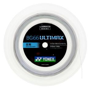 【送料無料】ヨネックス(YONEX) BG66アルティマックス 200m 430(メタリックホワイト) YNX-BG66UM2