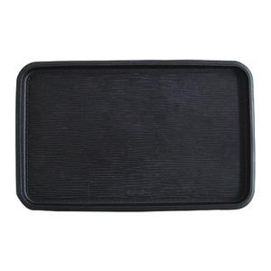 カーメイト(CAR MATE) 小物の滑り落ち防止パッド(トレータイプ) エピ柄 S ブラック DZ127