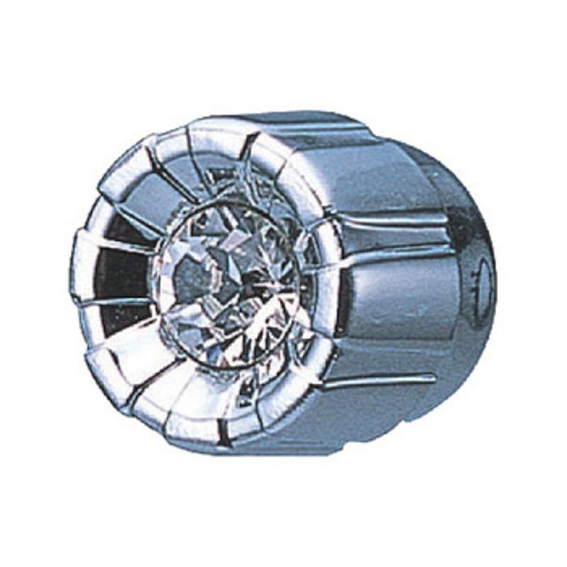 カーメイト(CAR MATE) ドレスアップパーツ メーターノブ用 メッキ×クリア DZ142