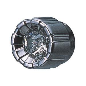 カーメイト(CAR MATE) ドレスアップパーツ メーターノブ用 ブラックメッキ×クリア DZ143