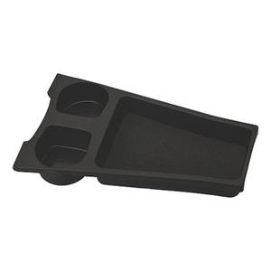 カーメイト(CAR MATE) プリウス(ZVW30系)専用 ドリンクホルダー&トレイ フロントコンソール用 ブラック NZ511