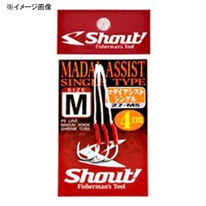 シャウト(Shout!) マダイアシストシングルフック L 27-MS