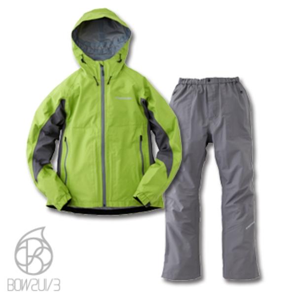 フリーノット(FREE KNOT) BOWSUI/3 レイヤードスーツ Y6207A フィッシングレインウェア(上下)