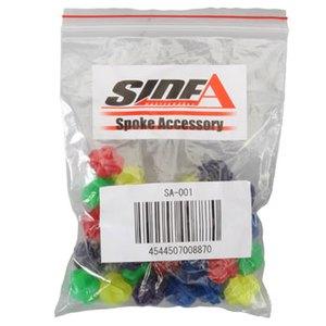 Side A(サイドエー) スポークアクセサリー SA-001 5色入り 13607