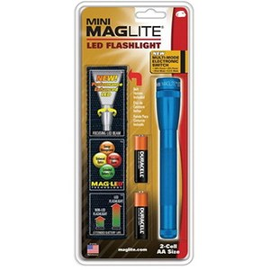 マグライト ミニマグライトLED 2nd 2AA 単三2本用 ブルー 1031049010011