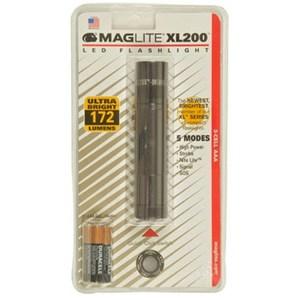 【送料無料】マグライト ミニマグライトLED XL200 グレー 1031054003011