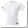 エスエスケイ(SSK) SSK-BT2220 丸首ベースボールTシャツ(無地) M 10(ホワイト)
