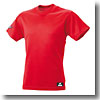 エスエスケイ(SSK) SSK-BT2220 丸首ベースボールTシャツ(無地) L 20(レッド)