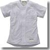 エスエスケイ(SSK) Webleague/無地メッシュシャツ S 95(シルバーグレー) SSK-US0001M