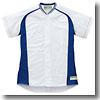 エスエスケイ(SSK) SSK-US0003M Webleague/切替メッシュシャツ 2XO 1063S(ホワイト×Dブルー×Sグレー)