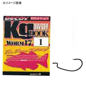 カツイチ(KATSUICHI) キロフック WORM 17 ワームフック(オフセット)