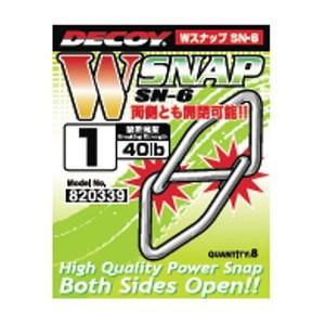 カツイチ(KATSUICHI) デコイ Wスナップ SN-6 #1
