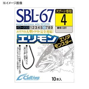 オーナー針 エリアモンスター SBL-67 11742 シングルフック(トラウト用)