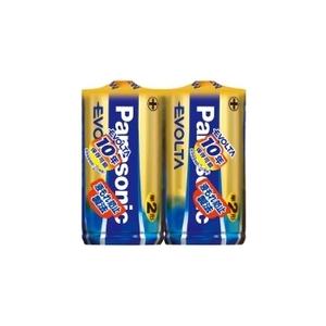 パナソニック(Panasonic) エボルタ乾電池 単2×2P LR14EJ/2SE