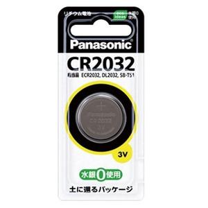パナソニック(Panasonic) コイン型リチウム電池 CR-2032P