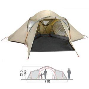 VAUDE(ファウデ) バダヴィ 4P 10749 ファミリードームテント