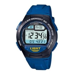 カシオ (CASIO) 【国内正規品】SPORTS GEAR デジタル時計 W-734J-2AJF ブルー