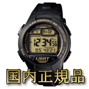 カシオ (CASIO) 【国内正規品】W-734J-9AJF ブラック
