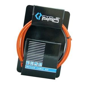 CYCLE PRO(サイクルプロ) ブレーキケーブルセット オレンジ CP-CS220BR