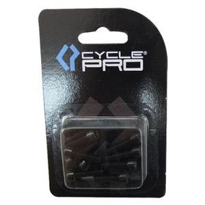 CYCLE PRO(サイクルプロ) アルミM5カラーボルト ブラック CP-BO115-10
