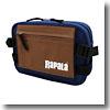 Rapala(ラパラ) カラーコンビネーションキャンバスヒップバッグ