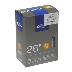 SCHWALBE(シュワルベ) 【正規品】チューブ 26インチ 英式バルブ 26x1-3/8、650x35A 12DV