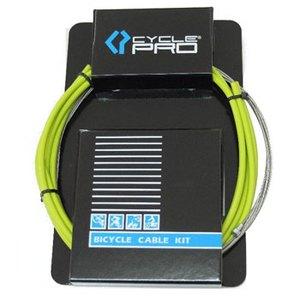 CYCLE PRO(サイクルプロ) ブレーキケーブルセット グリーン CP-CS220BR
