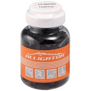 【送料無料】ALLIGATOR(アリゲーター) 4mm樹脂シールドアウターキャップ LY-HPPS01 ブラック