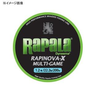 Rapala(ラパラ) ラピノヴァ・エックス マルチゲーム 200m 3号/39.6lb ライムグリーン RLX200M30LG