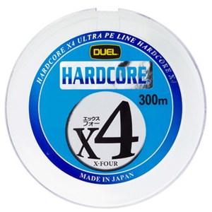 デュエル(DUEL) HARDCORE X4(ハードコア エックスフォー) 300m H3253