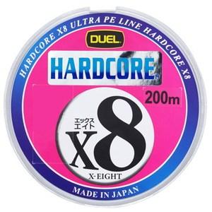 デュエル(DUEL) HARDCORE X8(ハードコア エックスエイト) 200m 1号/20lb H3262