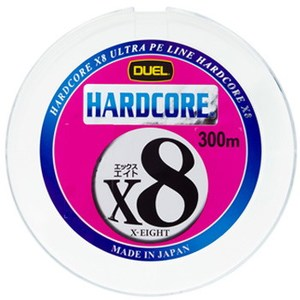 デュエル(DUEL) HARDCORE X8(ハードコアエックスエイト) 300m H3266