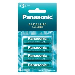 パナソニック(Panasonic) カラーアルカリ乾電池 単3形 4本パック LR6LJG/4B