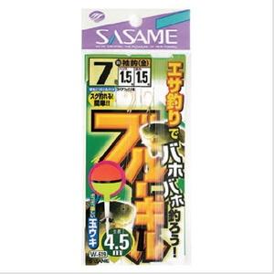 ささめ針(SASAME) ブルーギル 鈎7号ハリス1.5号 W-619