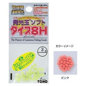 東邦産業 発光玉ソフト タイプ8H 3.5号 ピンク 1614