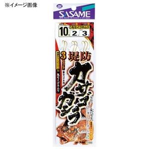 ささめ針(SASAME) 堤防カサゴ・ガシラ3セットA 11号-2.5 金 D-650