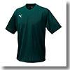 PUMA(プーマ) SSS) ハンソデゲームシャツ Men's L (68)フォレスト×ホワイト 862161