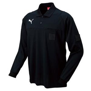 【送料無料】PUMA(プーマ) ナガソデレフリーシャツ Men's O (01)ブラック 900406
