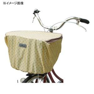 MARUTO(マルト) ファッション前バスケットカバー・ファスナー付(D-4FMT) 水玉xイエロー YD-2148