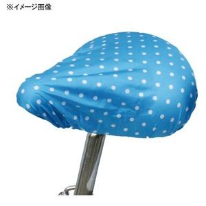 MARUTO(マルト) 簡単雨よけサドルカバー・軽快車用(SC-MT) 水玉×ブルー YD-2163