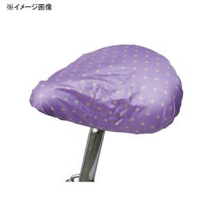MARUTO(マルト) 簡単雨よけサドルカバー・軽快車用(SC-MT) 水玉×パープル YD-2166