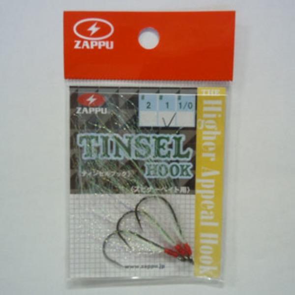 ZAPPU(ザップ) ティンセルフック ジグ用アシストフック